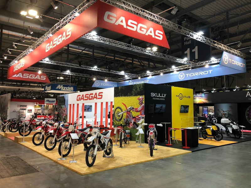 Stand  EICMA 2018 - GAS GAS - TORROT